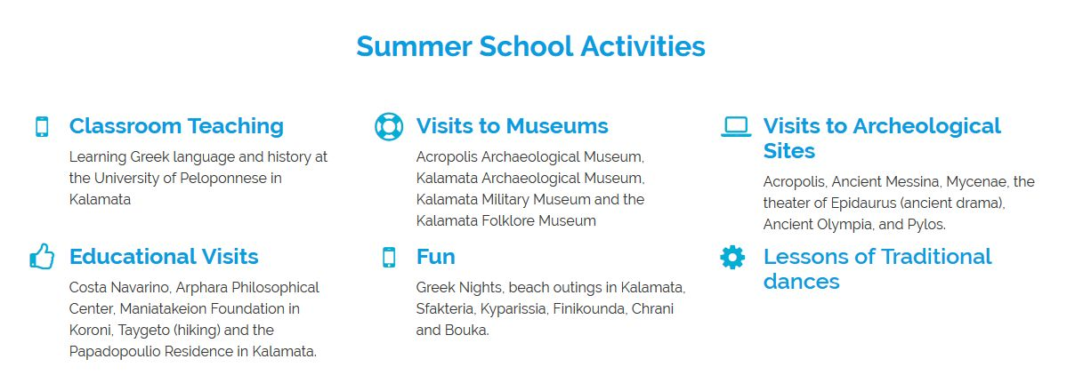 activities summer school